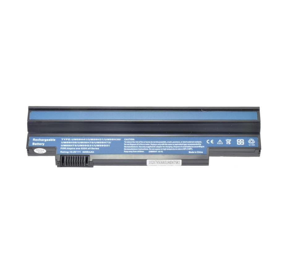 Батарея для ноутбука ACER Aspire one 532h все серии 533 AO533 белый