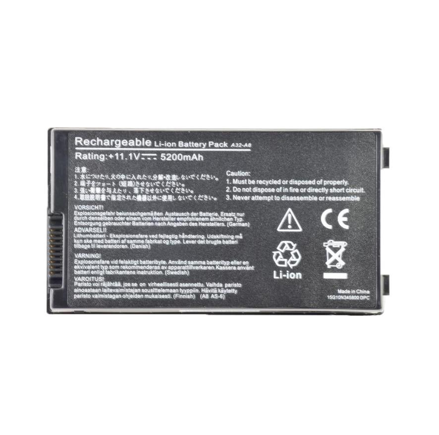 Батарея для ноутбука Asus A8 A M L G Dc E F Fm H