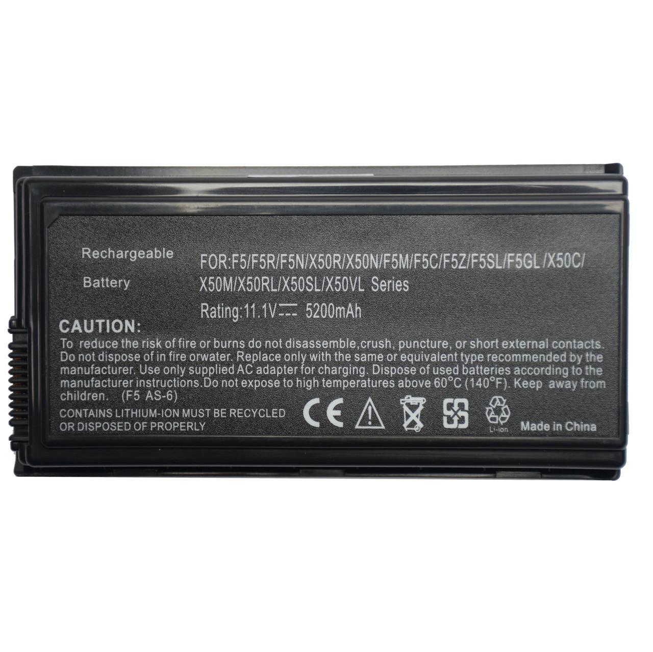 Батарея для ноутбука ASUS X50R X50RL X50SL X50Sr X50V X50VL X59 X59Sr 57Vr 57A 57KR 57S 57SE 57Sn 57Ta 57Tr