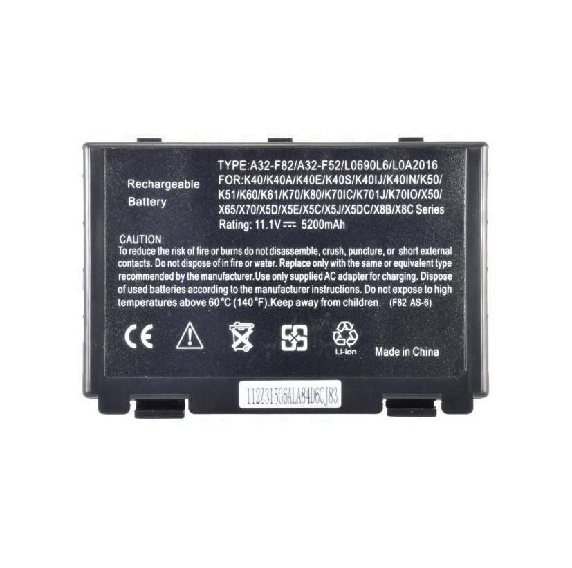 Батарея для ноутбука Asus K40 A E S IJ IN K50