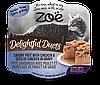 Консервы Zoe Delightful Duets Pate для кошек с курицей, 80 г
