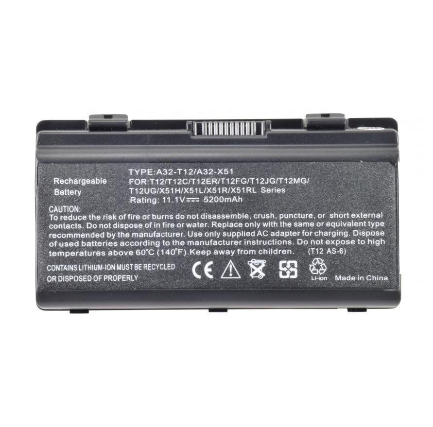 Батарея для ноутбука ASUS T12 T12C T12Er T12Fg T12Jg T12Mg T12Ug X51C X51H X51L X51R X51RL X58 X58C X58L X58Le