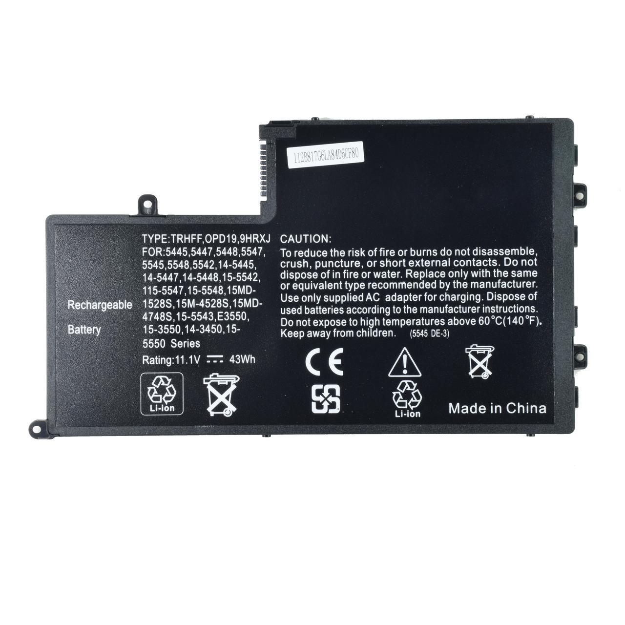 Батарея для ноутбука DELL DL011307-PRR13G01 DFVYN P39F Inspiron 5445 5447 5448 5547 5545 5548