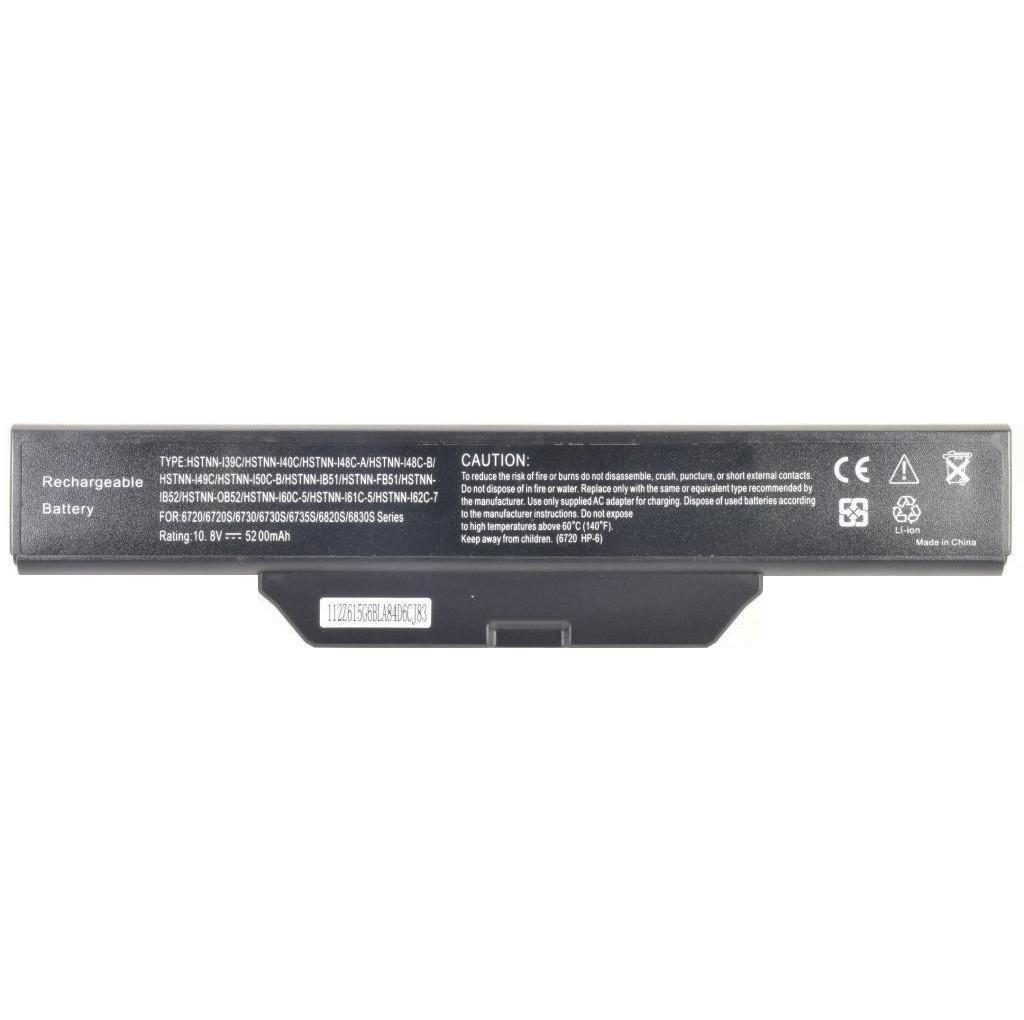 Батарея для ноутбука HP COMPAQ 550 610 HP Business Notebook 6720s 6720s/CT 6730s 6730s/CT 6735s 6820s 6830s