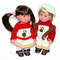 Детские куклы Франческа и Паоло 18 см. Парочка