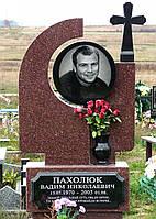 Памятник на могилу скрестом