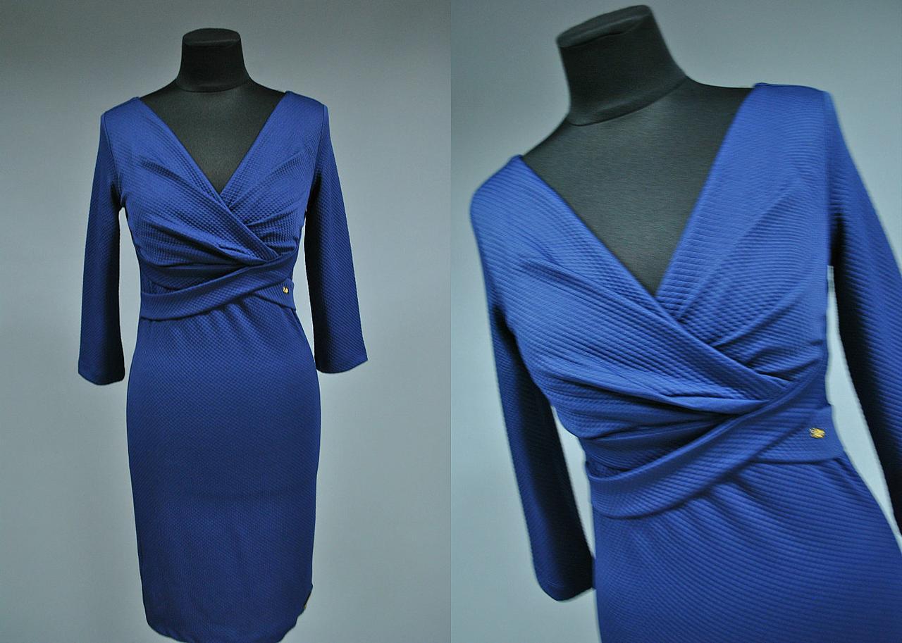 Красивое женское платье на запах 44 размер Турция норма