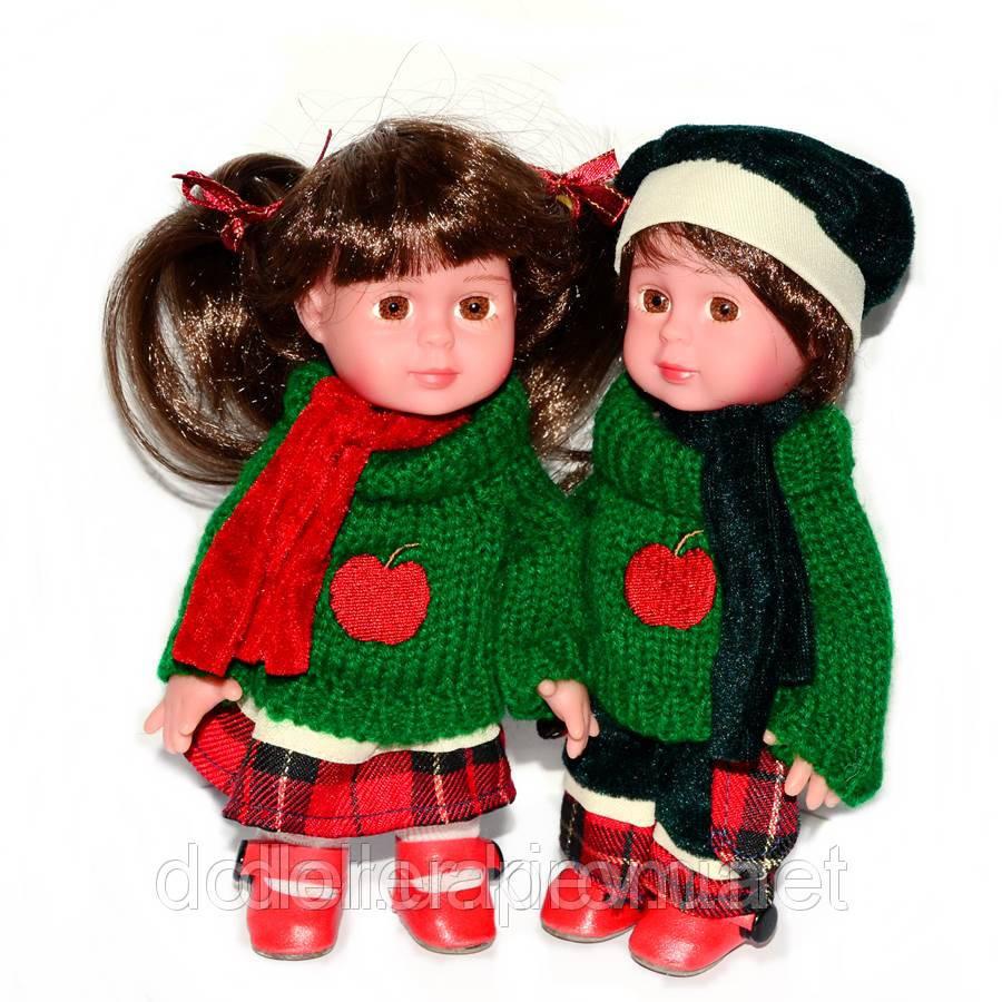 Детские куклы Люсия и Чезаре 18 см. Парочка
