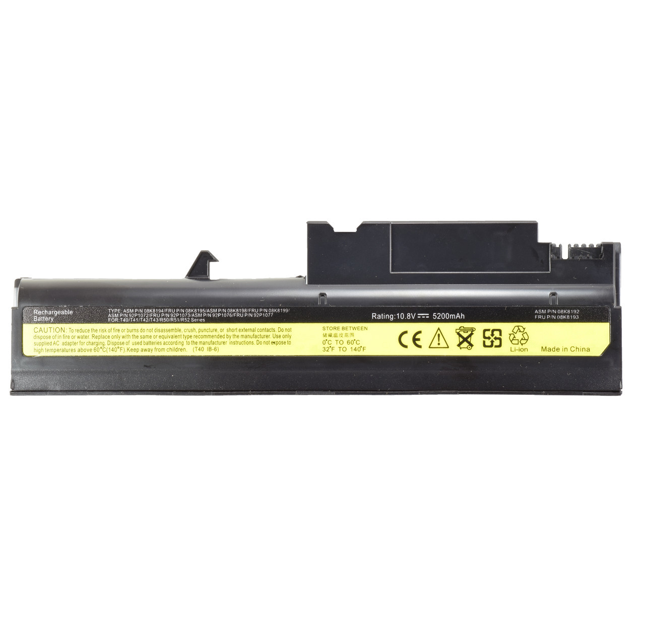 Батарея для ноутбука IBM 08K8194 92P1010 92P1011 92P1058 92P1060 92P1062 92P1067 92P1070 92P1071