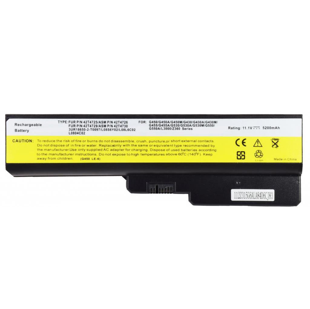 Батарея для ноутбука LENOVO IdeaPad B460 B460A B460EAT B550