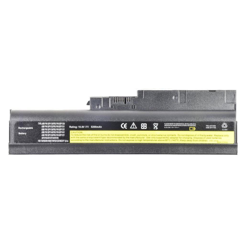 Батарея для ноутбука IBM ThinkPad R60 R60e 0656 9463 R61 R61e R61i T60 T60p T61 T61p R500 W500
