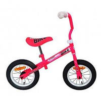 Беговел Balanser Bike 12 дюймов надувка pink