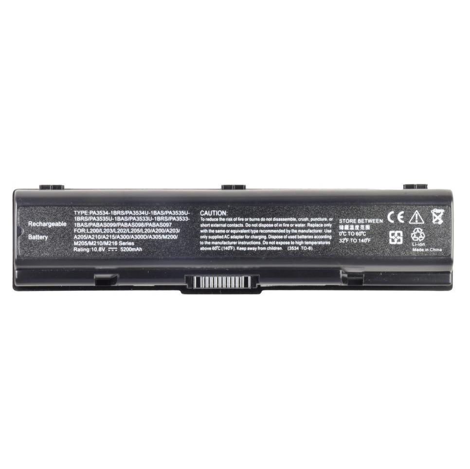 Батарея для ноутбука TOSHIBA Dynabook AX TX Equium Pro Satellite A200 A305 L200 M200 Pro A200 L300 L500 L550