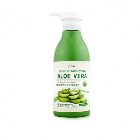 Лосьон для тела с алое ESFOLIO ALOE VERA SOOTHING BODY LOTION 500 мл