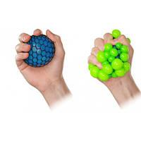 Игрушка антистресс мячик Вирус зомби