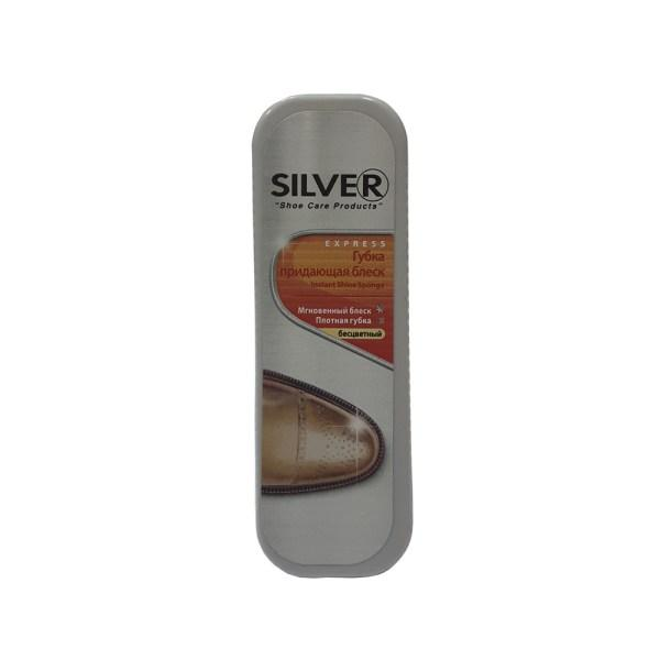 Губка для обуви SILVER бесцветная