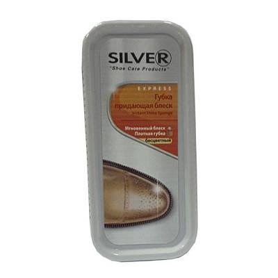 Губка, придающая блеск, SILVER для обуви бесцветный