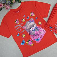 Футболка для девочки 1-3 лет, Турция.  Детские футболки, футболки для девочек летние