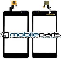 Оригинальный Сенсор (Тачскрин) для LG P720 | P725 Optimus 3D MAX (Черный)
