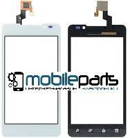 Оригинальный Сенсор (Тачскрин) для LG P720 | P725 Optimus 3D MAX (Белый)