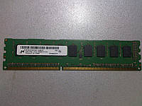 Память DDR3 2GB 1333MHz Micron 1Rx8 PC3L-10600E-9-11-D1 MT9KSF25672AZ-1G4M1ZE