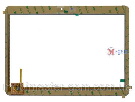 """Тачскрин (сенсорный экран) AINOL Novo 10,1"""" AX 10 Pro (pn: SG5523A-FPC-V0 ) белый, фото 2"""