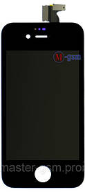 LCD модуль Apple iPhone 4 h/c черный