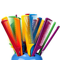 Гребень пластиковый тонкий для волос
