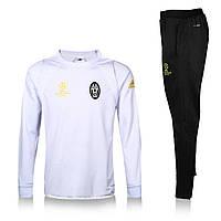 Спортивный костюм Adidas, Ювентус (белый). Футбольный, тренировочный. Сезон 16/17