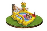 Детский надувной бассейн Intex 57105 Smiley Giraffe Baby Pool