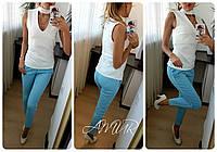Костюм женский летний (цвета) СЕР164, фото 1