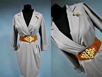Женское платье с поясом Турция 42, 44, 46 размер норма