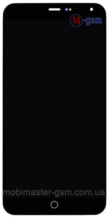 LCD модуль Meizu M1 Note черный