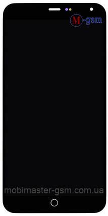 LCD модуль Meizu M1 Note черный, фото 2