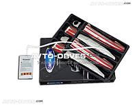 Накладки на ручки открывания дверей Peugeot Partner 2015-..., 4 шт