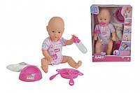 Simba Пупс New Born Baby с аксессуарами, 38 см (5032533), фото 1
