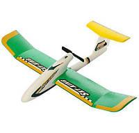 Детский радиоуправляемый самолёт YT103: 2 канала, 2,4G, 30 см, запасной винт, ЗУ, аккумулятор