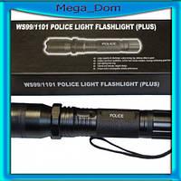 Мощный электрошокер с фонариком 1101 *POLICE*