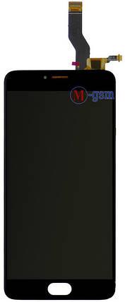 LCD модуль Meizu M3 Note (L681H) черный, фото 2