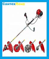 Коса бензиновая Тайга БГ 4300 Garden Tools ( 1 ножа 1 катушка)