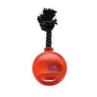 Игрушка Hagen Bomber Bomb Tug Ball LED для собак, 12.7 см