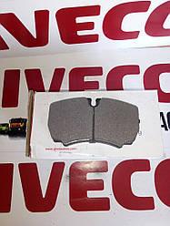 Дискові гальмівні колодки , комплект IVECO (C2E000ABE/42470841)