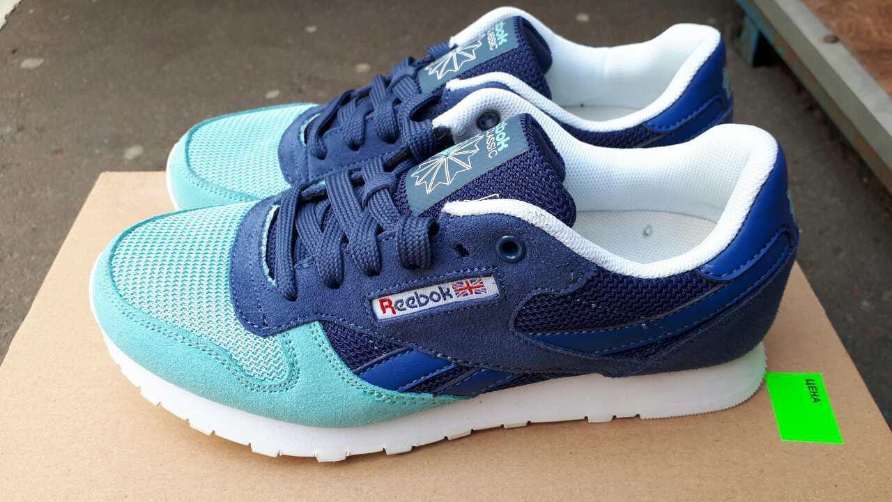 Женские кроссовки Reebok Classic Blue