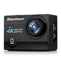 Экшн-камера Excelvan Q8 4K WiFi Black