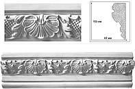 Потолочный карниз с орнаментом. Межэтажные фасадные багеты, плинтуса, декоры