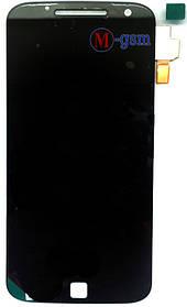 LCD модуль Motorola Moto G4 Plus XT1641, XT1642, XT1644 черный