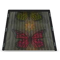 Москитная сетка на магнитах Insta Screen (Magic Mesh) с Бабочками  209х102 см.