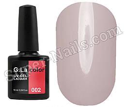 Гель лак G.La Color №002, 10 мл