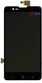 LCD модуль ZTE Blade HN V993W черный