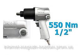 Ударный пневматический гайковерт Yato 1/2 YT- 09511 550 NM S